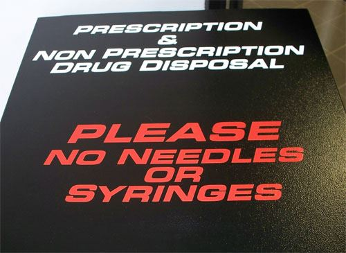 Please no needles or syringes
