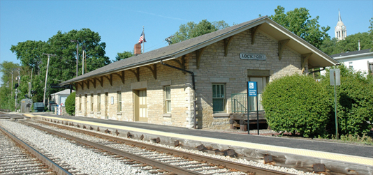 Lockport Metra Station